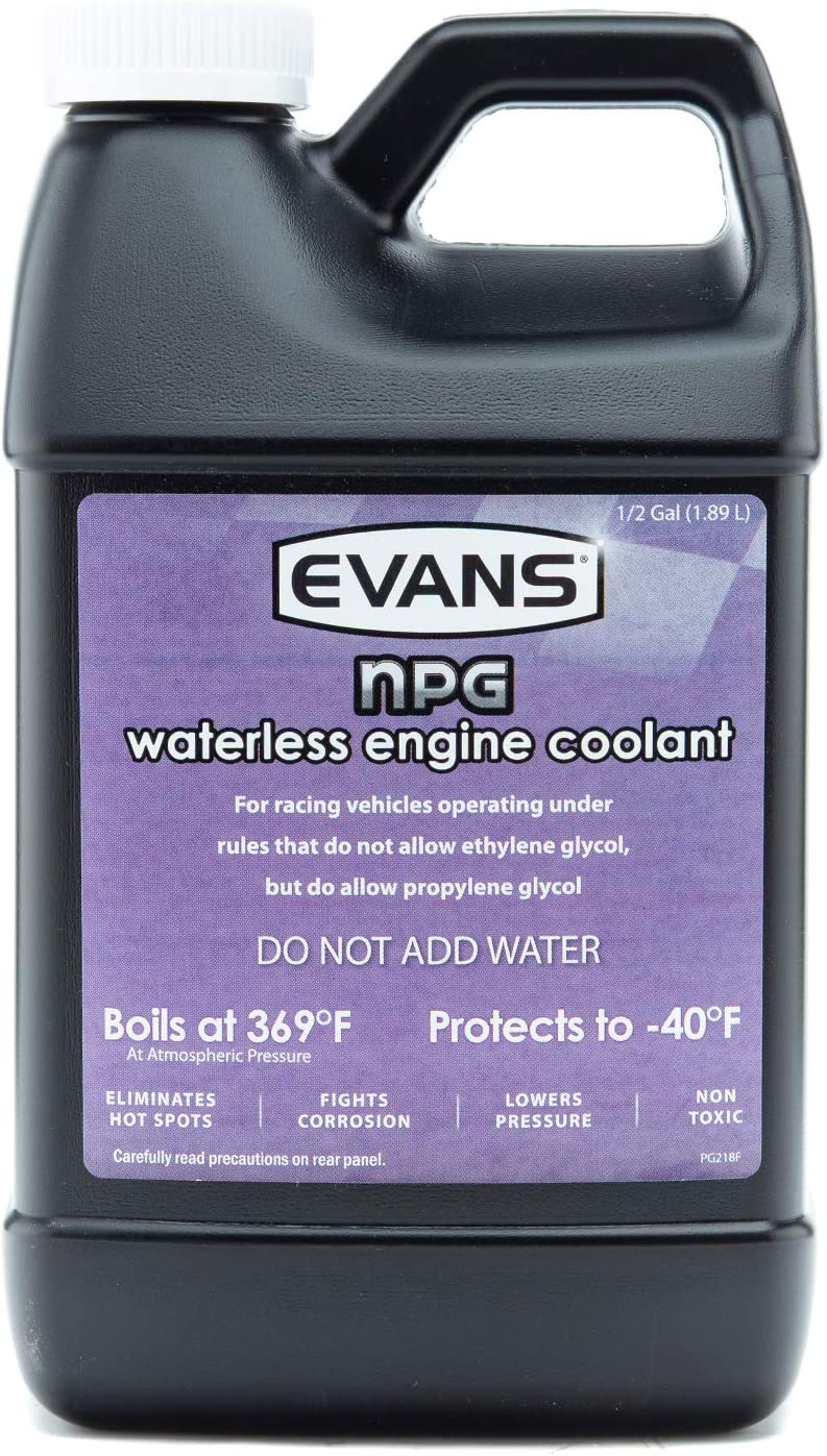 EVANS Coolant EC10064 Waterless Engine Coolant, 64 fl. oz.