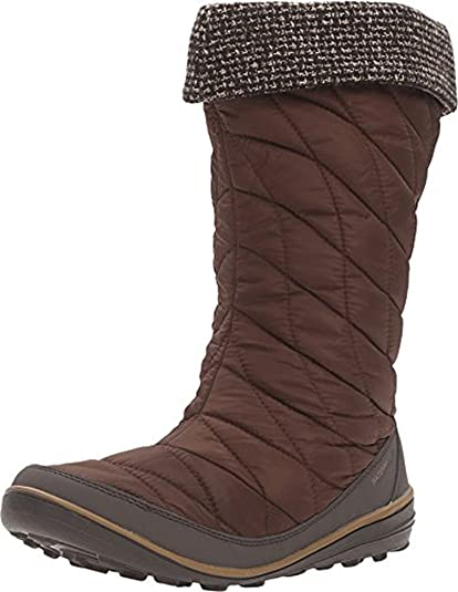 01ab1cd90ea Columbia Women s Heavenly Omni-Heat Slip Knit Tobacco Dark Mirage Boot 5 B (