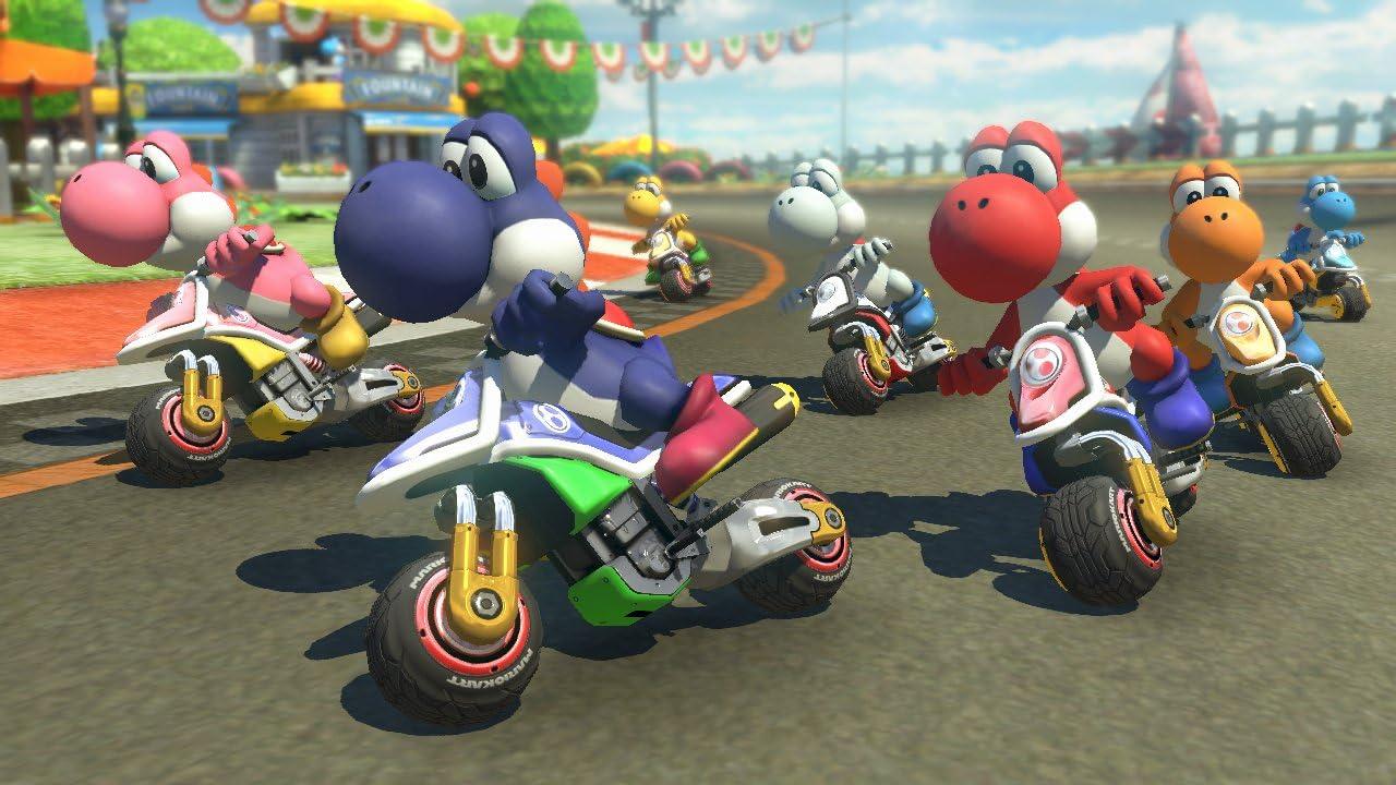 Amazon com: Mario Kart 8 Deluxe - Nintendo Switch: Mario