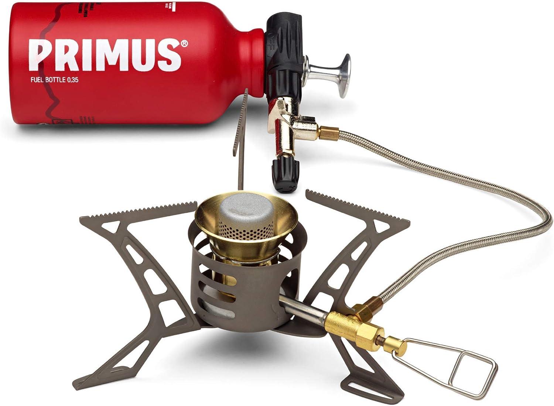 Primus | Kit de estufa de combustible múltiple | Estufa con botella de combustible y ErgoPump