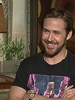The Nice Guys cast interviews - Ryan Gosling, Russell Crowe, Matt Bomer & more.