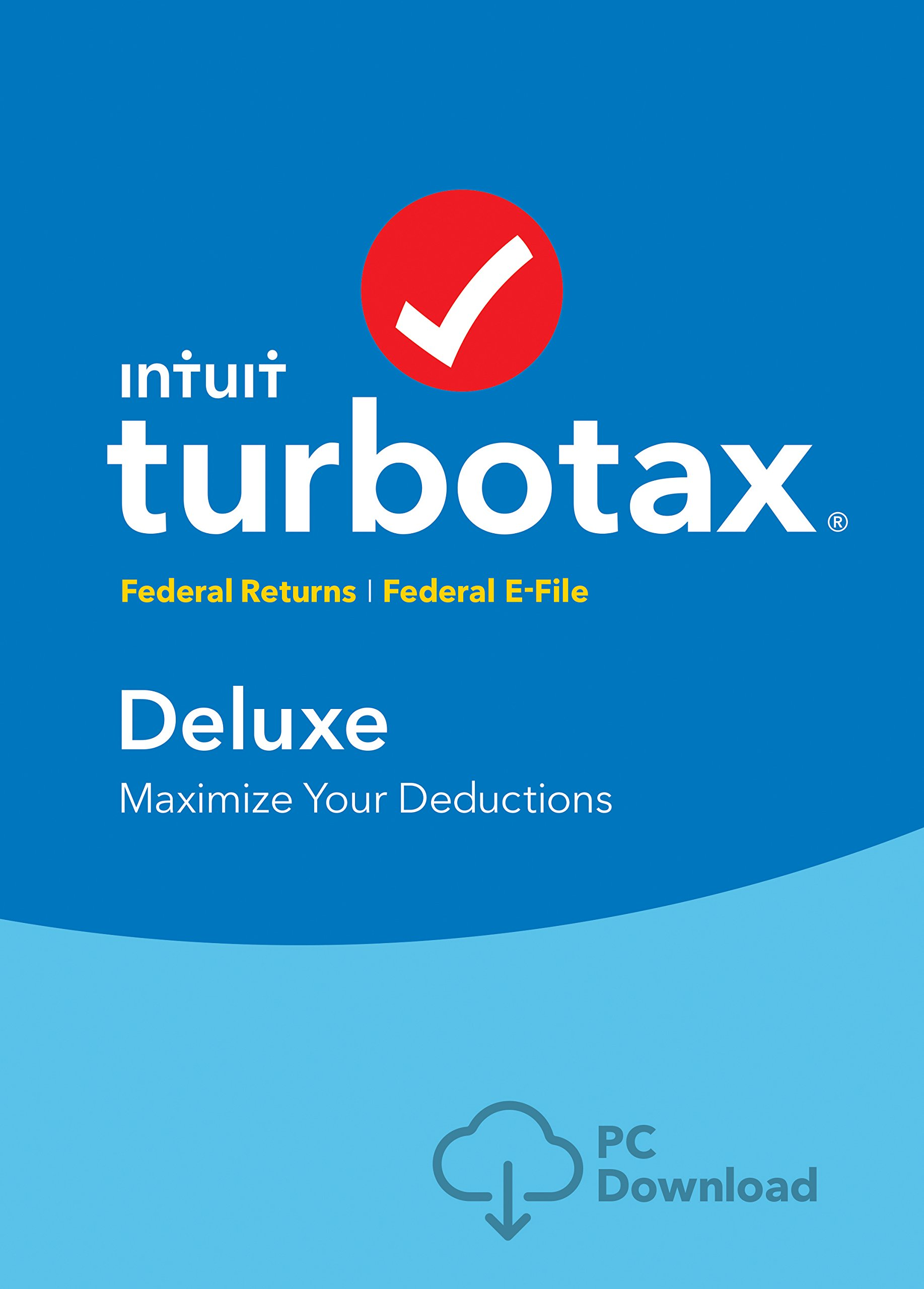 TurboTax Deluxe 2018 Tax Software [PC Download] [Amazon Exclusive] by Intuit, Inc.