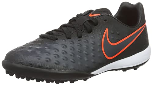 Nike Magistax Opus Ii Tf Scarpe da Calcio Unisex Bambini Nero Black/Black