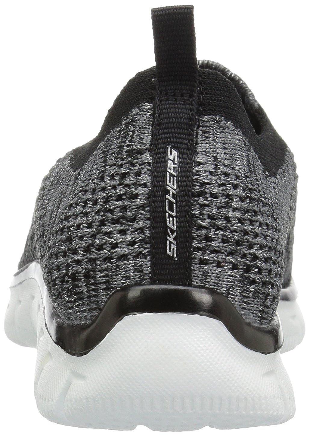 Skechers Damen Empire - - - Inside Look Turnschuhe weiß schwarz  6bc9df