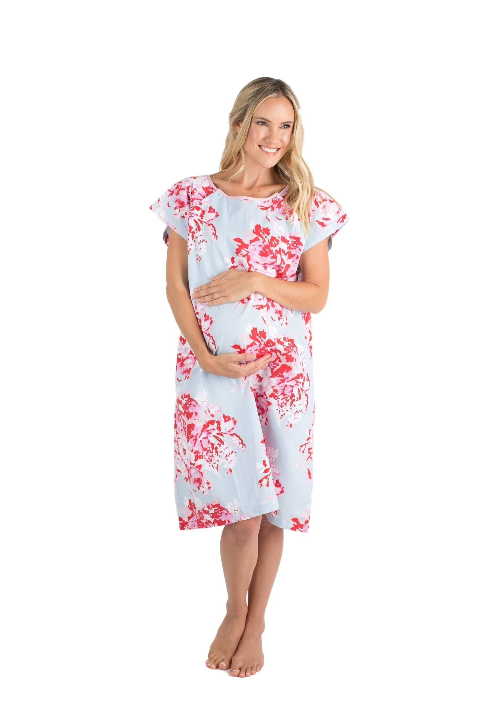 Gownies - Labor & Delivery Maternity Hospital Gown by Baby Be Mine ...