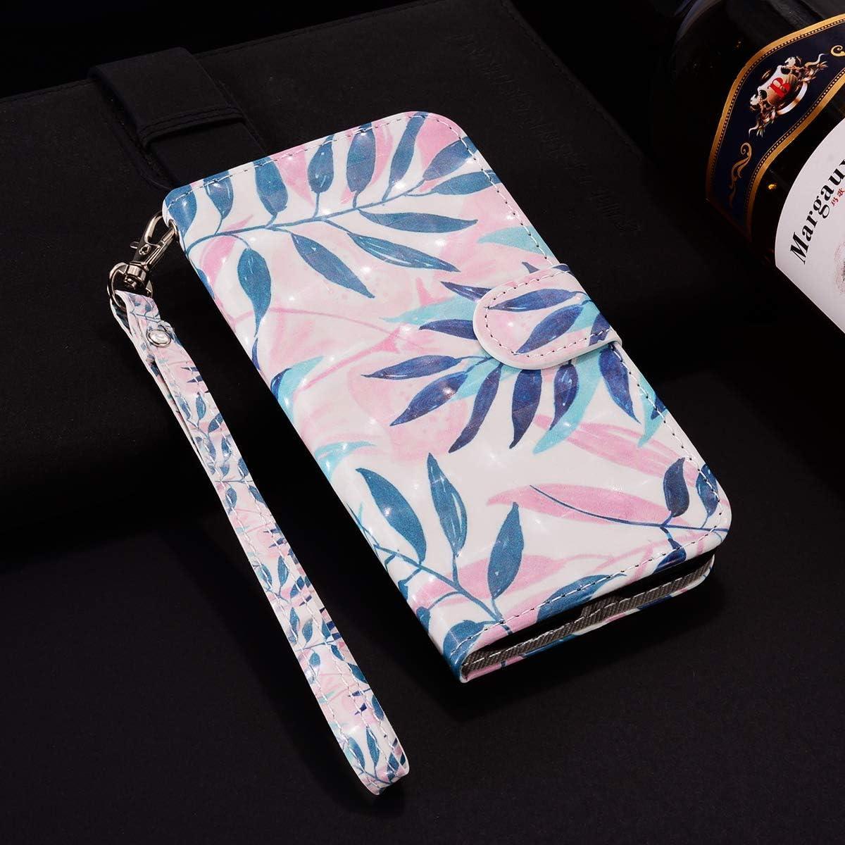 Surakey PU Leder H/ülle f/ür Huawei Y6 Pro 2017 Handyh/ülle Handytasche 3D Gemalt Muster Glitzer PU Tasche Schutzh/ülle Flip Case Brieftasche Etui Wallet Case St/änder Kartenf/ächer Lila Quadrat