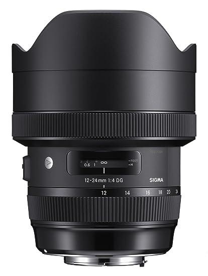 Sigma F4 DG AF HSM Art - Objetivo para cámara para réflex (12-24 ...