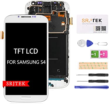 srjtek - Pantalla LCD de Repuesto para Samsung Galaxy S4 i9500 ...