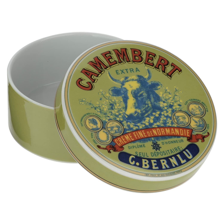 gr/ün//blau und rot Bia Kuh Kopf des Camembert Baker und