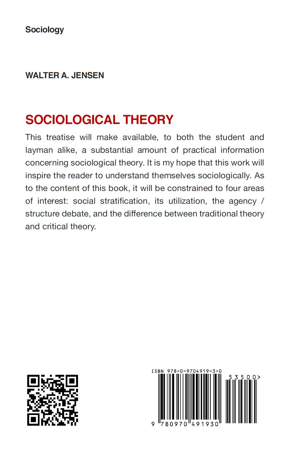 what is agency sociology