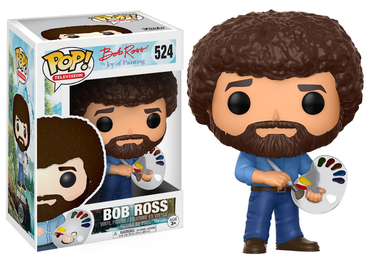 Funko Pop! Television: Bob Ross - Bob Ross Collectible Figure 14813 Accessory Toys & Games