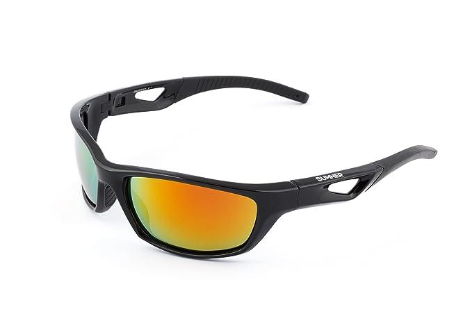Sunner Gafas de Sol Deportivas Polarizadas SUS821 Súper Lígeras Para Hombre y Mujer Ideal Para Esquiar