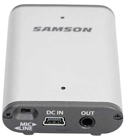 Samson AirLine Micro UHF - Auriculares inalámbricos con micrófono y auriculares inalámbricos: Amazon.es: Instrumentos musicales