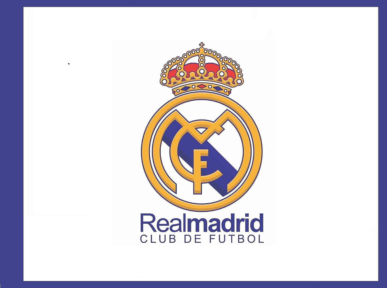 Real Madrid Bandera Mediana CF Nº1: Amazon.es: Deportes y aire libre