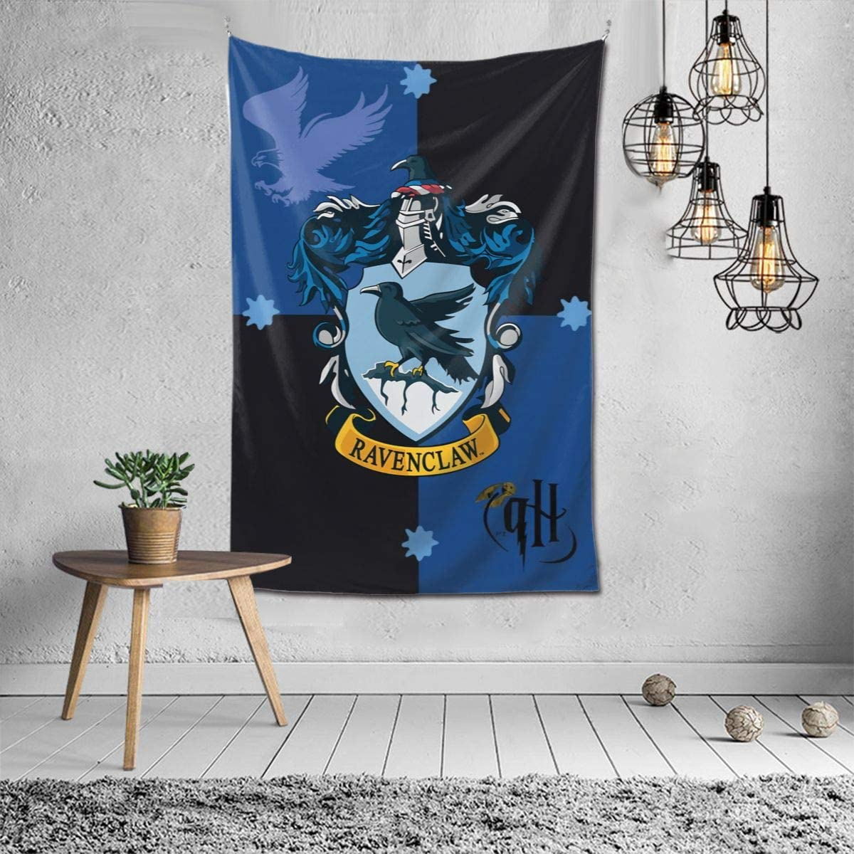 Raven-claw Tapestry Wall Hanging Fashion Home Decoration Wall Blanket Dormitory Living Room Bedroom 60x40inch