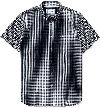 Lacoste Camisa CH5656 Verde Hombre 42 Verde: Amazon.es: Ropa y accesorios