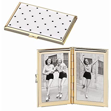 Amazon.com : Kate Spade New York Garden Drive Hinged Pocket Frame ...