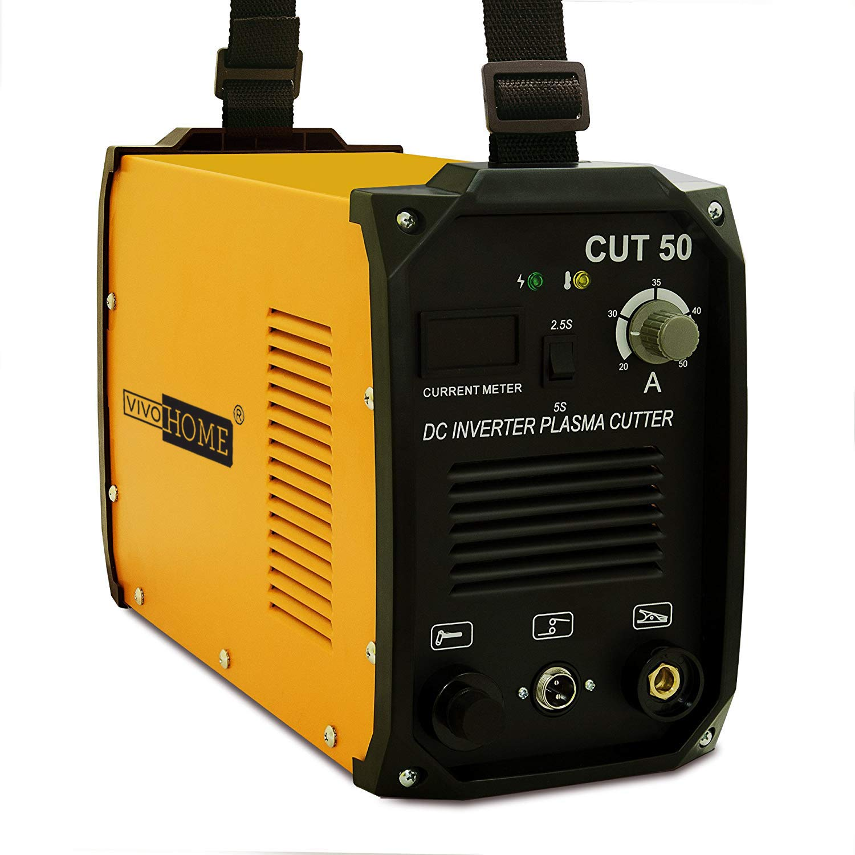 VIVOHOME DC Inverter Plasma Cutter Cutting Machine Dual Voltage 110V/220V CUT-50 by VIVOHOME (Image #7)