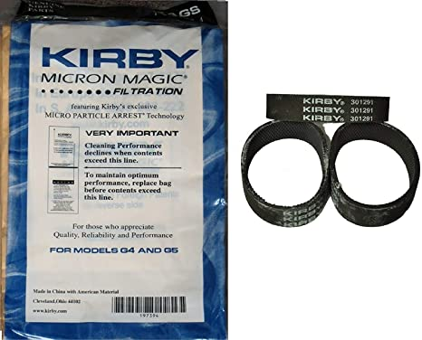 Amazon.com: Kirby New 9 Micron – Bolsas Aspiradora G4 & G5 ...