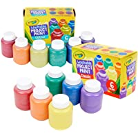 Deals on 12-Count Crayola Washable Kids Paint 54-2312