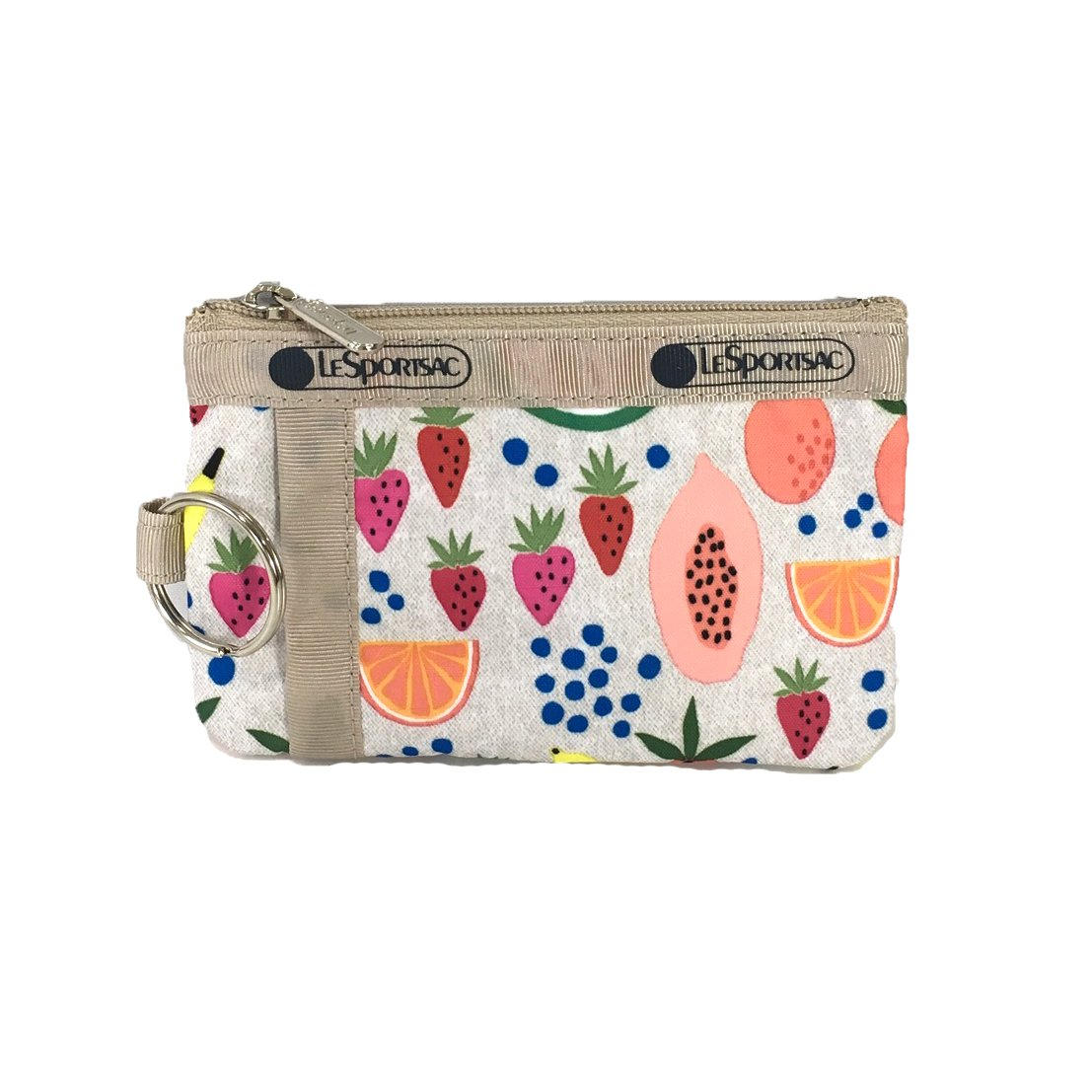 LeSportsac Zip ID Card Case, Summer Fruits