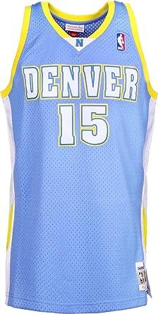 ab709bfb6 Mitchell   Ness Carmelo Anthony  15 Denver Nuggets Camiseta sin Mangas   Amazon.es  Ropa y accesorios