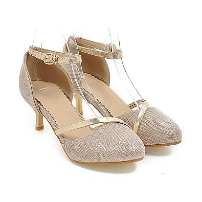 QINX Frauen Schuhe Heels Sandalen