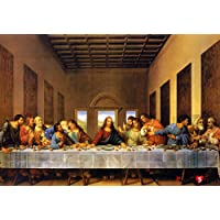 [Puzzle Life] Leonardo Da Vinci Last Supper | 1000 Piece - Large Format Jigsaw Puzzle. Can be Enjoyed by All Generation…