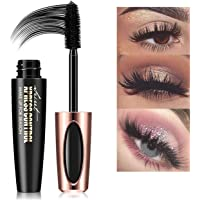 5D Silk Fiber Lash Mascara, Waterproof 5D Fiber Mascara, Luxuriously Longer Thicker Voluminous Eyelashes Long Lasting…