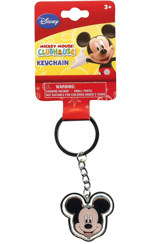 Amazon.com: Disney Mickey Mouse keychain- Mickey Cabeza ...