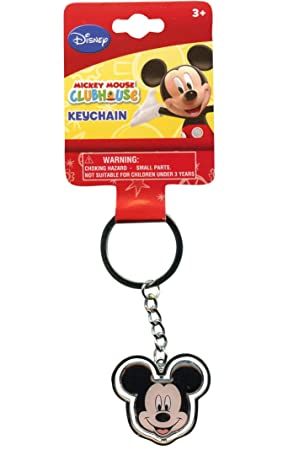 Mickey Mouse Face Llavero - Disney Llavero: Amazon.es ...
