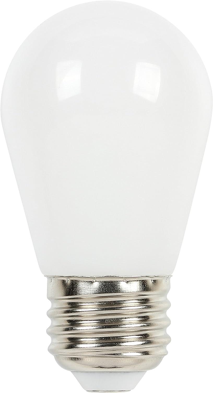 Westinghouse Lighting 0511500 1W S14 LED Light Bulb with Medium Base Warm White