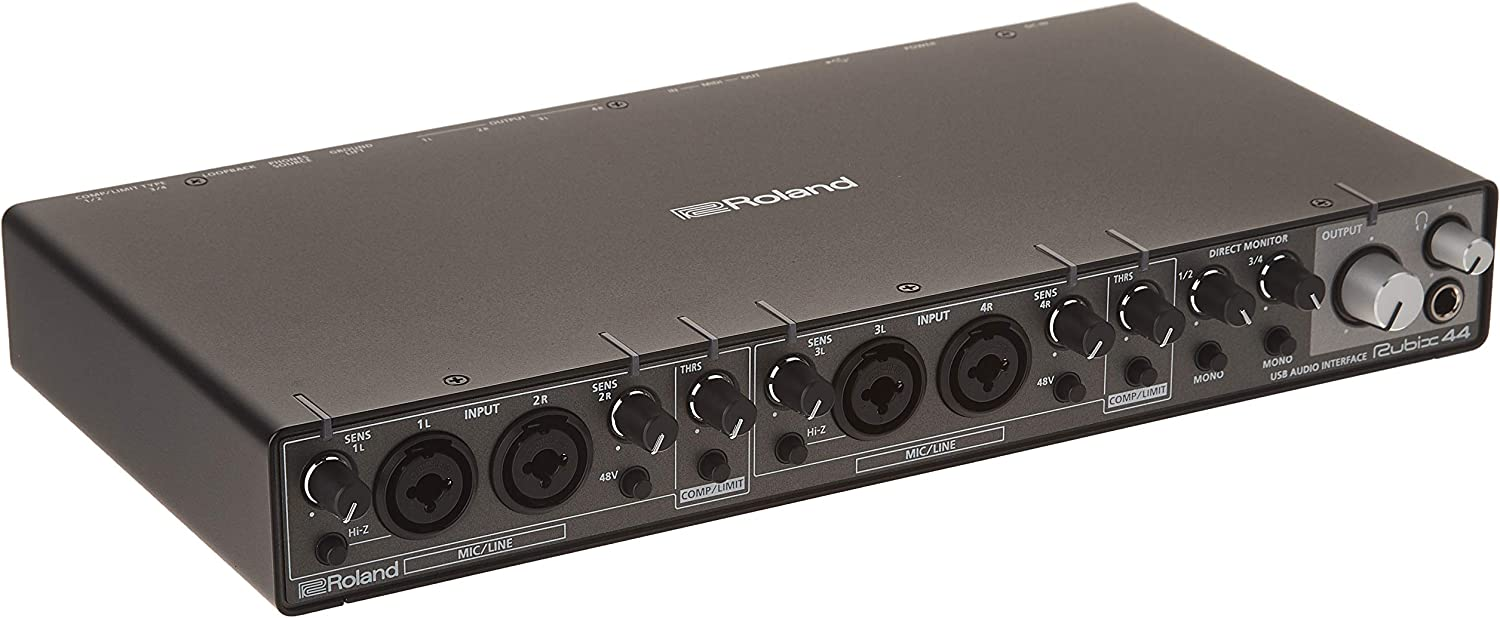 Roland RUBIX44 USB Audio Interface, 4 in/4 out