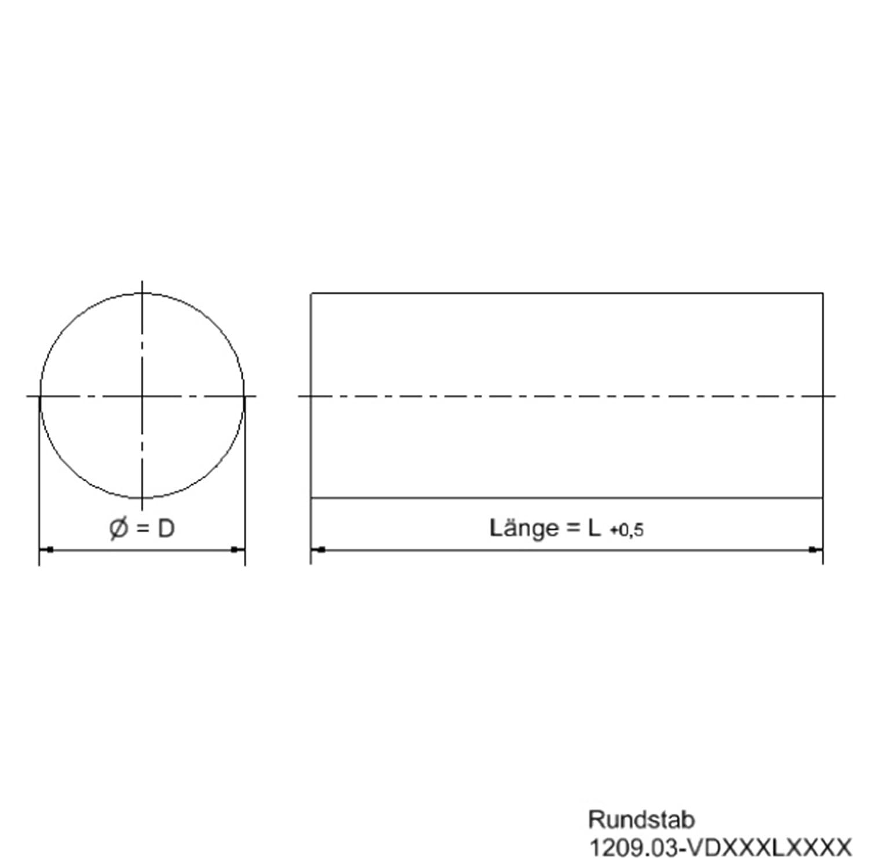Rundmaterial 8mm Automatenstahl rund Rundstahl 11SMnPb30 Welle,1000mm 1m
