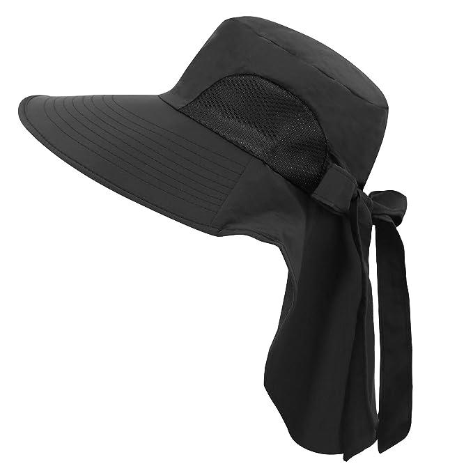 4fcfce69cf290 Jasmine Floppy Hat Womens Flap Cover Cap UPF 50+ UV Protective Sun ...