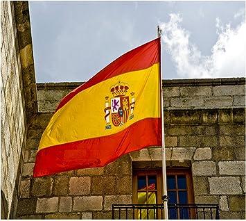 Hemore Bandera de España,Bandera Grande 150×90cm ...