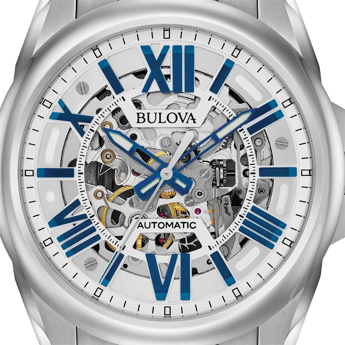 1471f15114d Relógio Bulova Automático Esqueleto Masculino Analógico WB31998F - 96A187   Amazon.com.br  Amazon Moda