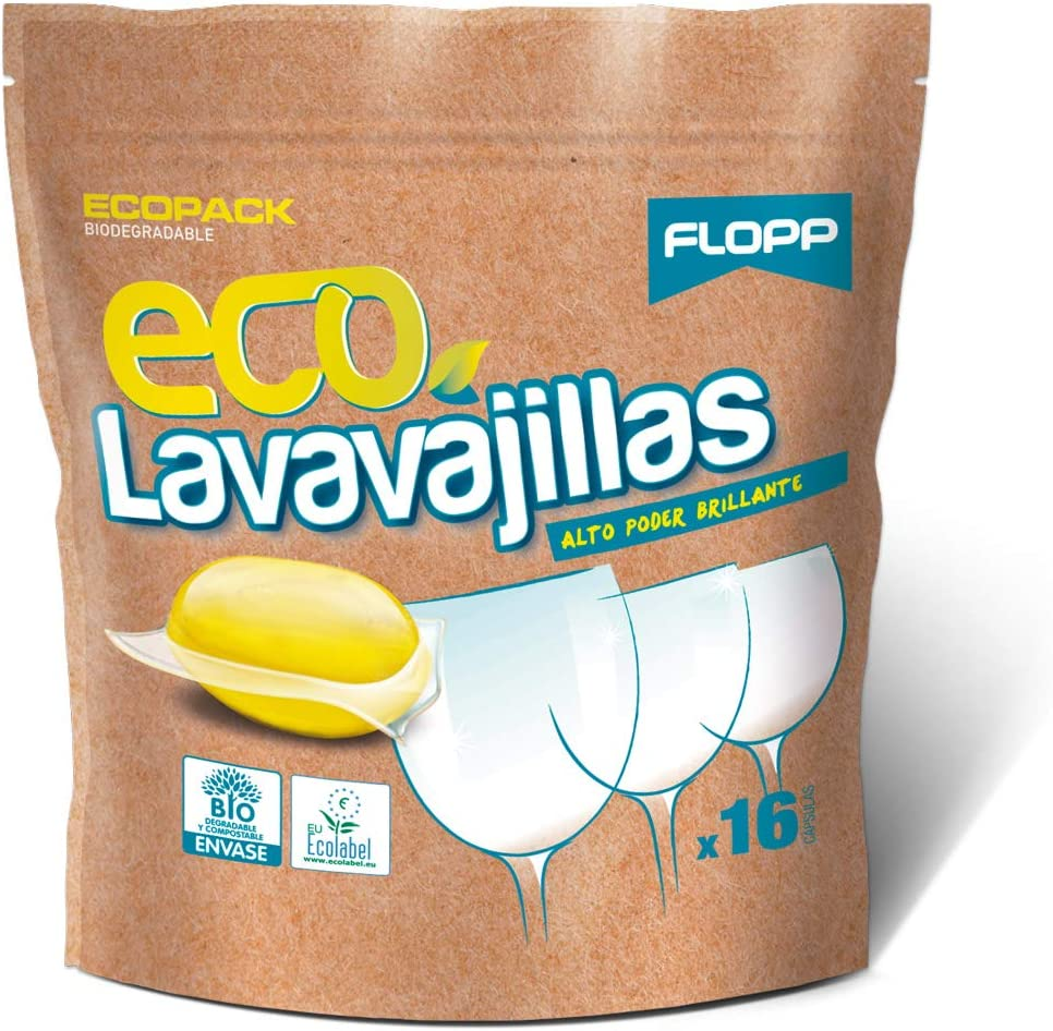Lavavajillas biodegradable
