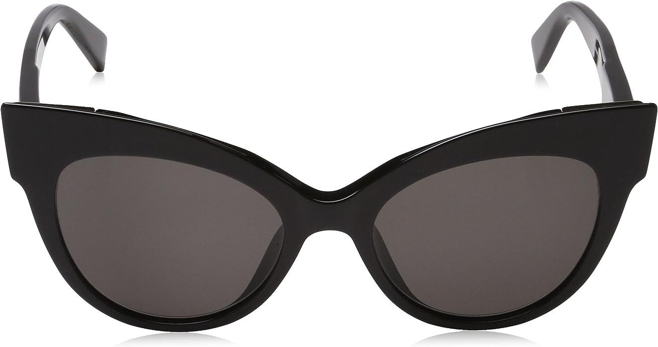 2776ae5d2d5b6 Amazon.com  Max Mara Women s Mm Anita Polarized Cateye Sunglasses ...