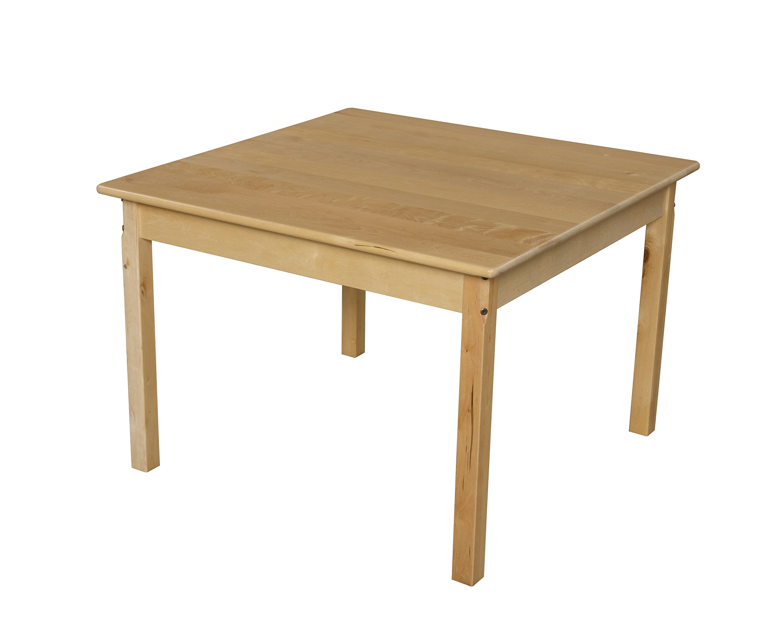 Wood Designs WD83724 Child's Table, 36'' Square with 24'' Legs