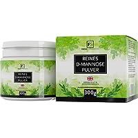 Focus Supplements D-mannosio pura polvere al 100% | Detossificante naturale per la vescica | SENZA ADDITIVI - Confezionato in strutture certificate ISO nel Regno Unito (300g)