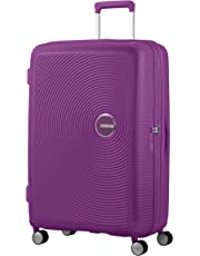 American Tourister Soundbox - Spinner Large Expandable Valise, 77 cm, 110 liters, Violet (Purple Orchid)