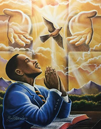 Amazon.com: Power Of Prayer ( Religious ) - Lester Kern 24x30 ...