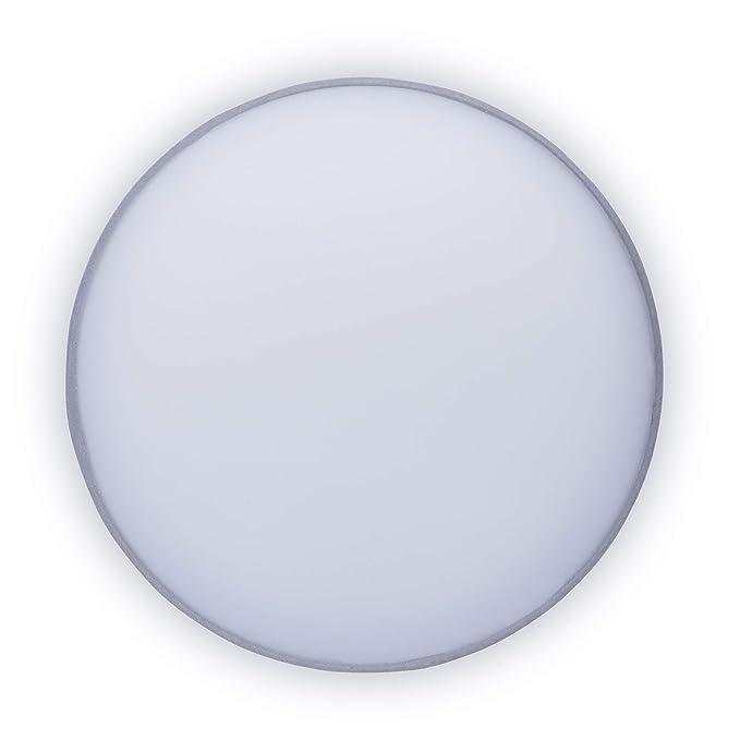 Plafón Mia 6000.534 de Ranex, 20 cm, Gris
