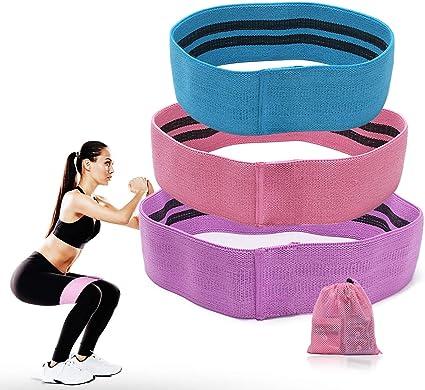 Bandes de résistance Set Tissu Hip Cercle exercice Booty Band GLUTE Jambe Squat De Yoga