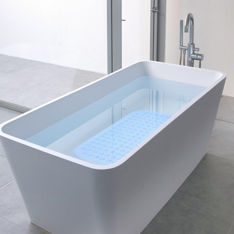 Amazon.com: AuAg 2 Packs Non Slip Bath Tub Shower Mats Set,Anti Slip ...
