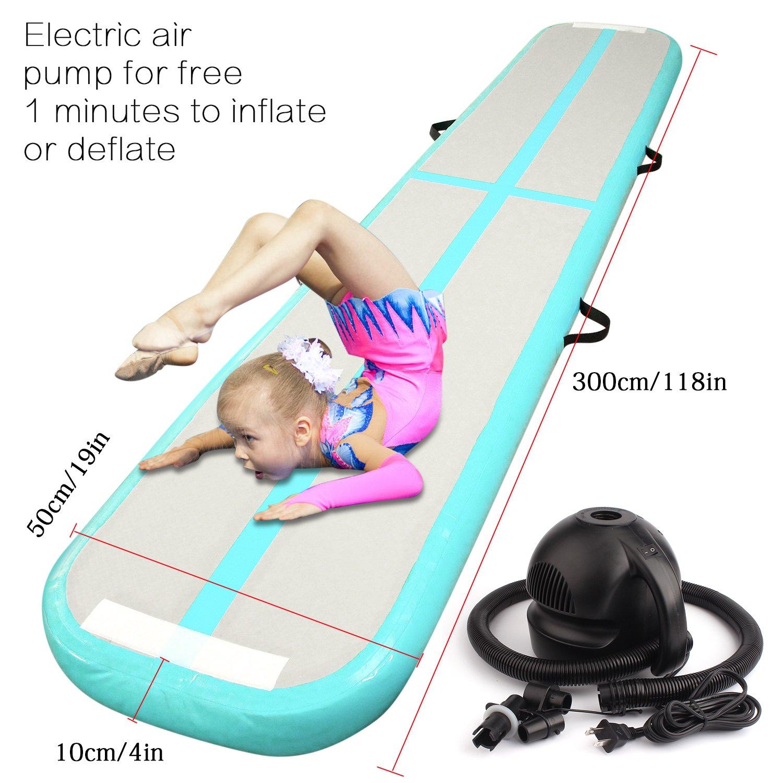 FBSport Hinchable de gimnasia Tumbling Mat aire Track Set de ...