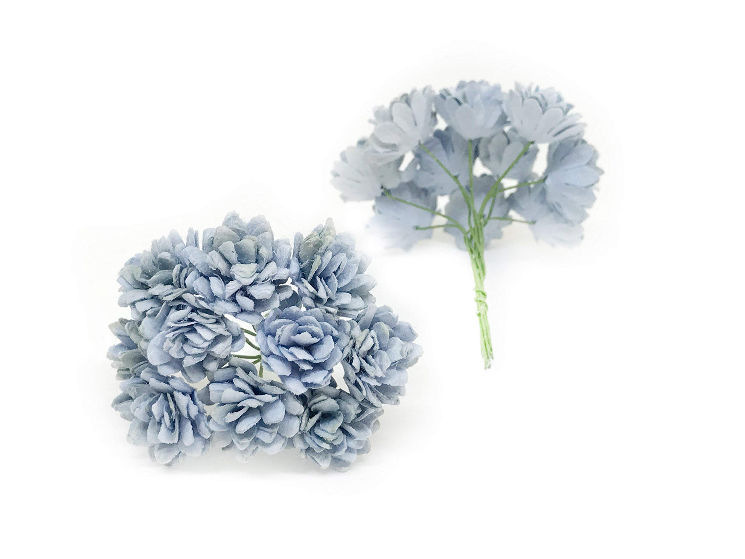 Savvi-Jewels-2cm-Blue-Mulberry-Paper-Flowers-with-Wire-Stems-Babys-Breath-Flowers-Mini-Paper-Flowers-Gypsophila-Wedding-Decoration-Craft-Flowers-50-Pieces