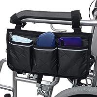 Multifunctional Wheelchair Side Bag Jimdary Wheelchair Scooter 600D Oxford Cloth Scooter Side Bag Pedestrian Mobile Chair Scooter Wheelchair