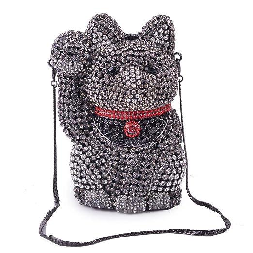 HG&&Bolsas De Embrague Para Mujer Diamante De Imitación ...
